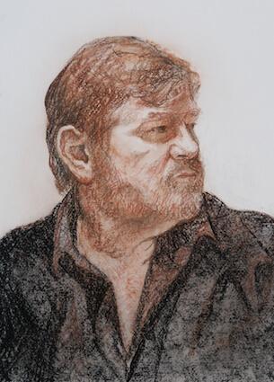 Study of Brendan Gleeson