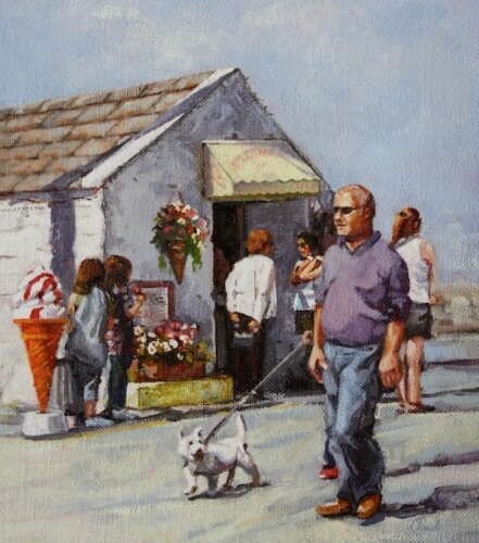 Walking The Dog , Skerries