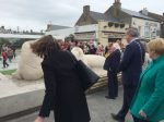President Michael d. Higgins of Ireland , Skerries, artist paul D'Arcy, Skerries seals