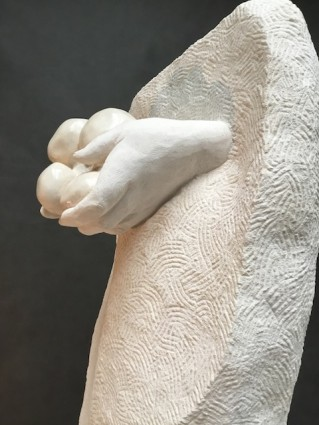Hands with Potatoes by artist Paul DArcy 1