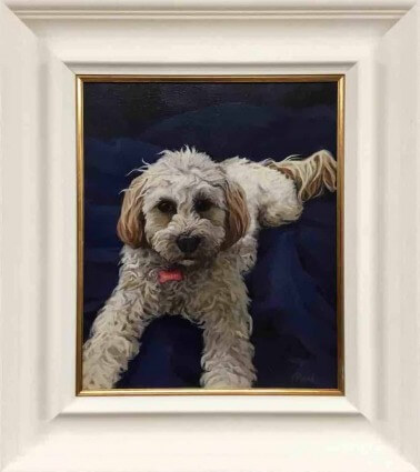 Pet portraits by artist Paul D'Arcy